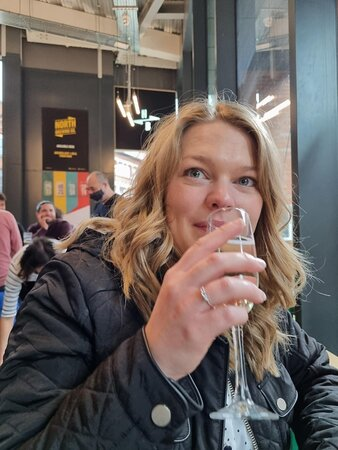 OK, so its prosecco not beer.