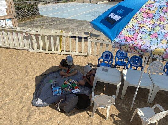 Club de plage Mickey-Belugas