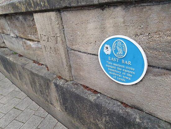East Bar Blue Plaque