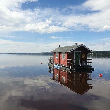 Bastuflotten i Rättvik