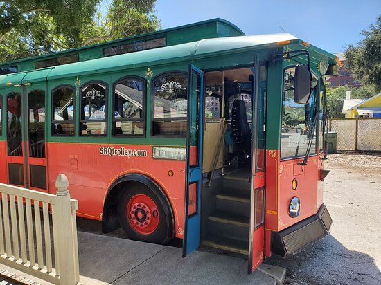 Haunted Sarasota: Mummies, Murder & Mayhem!: Discover Sarasota Tours has a chartered trolley tour operator as a vendor for this local small business. 