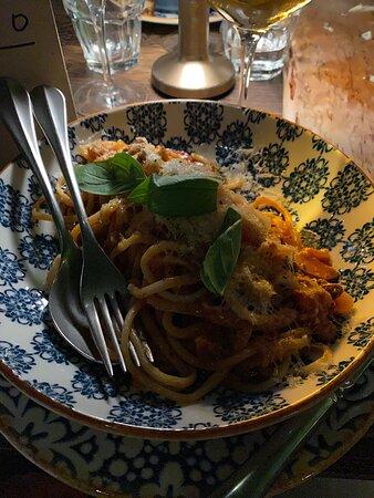 Kom hit för pasta och ledigt häng