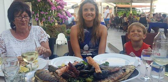 Fischplatte für mehr als 2 Personen