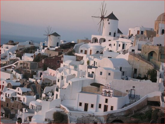 Memories from past travels ... Santorini. Absolutely beautiful.