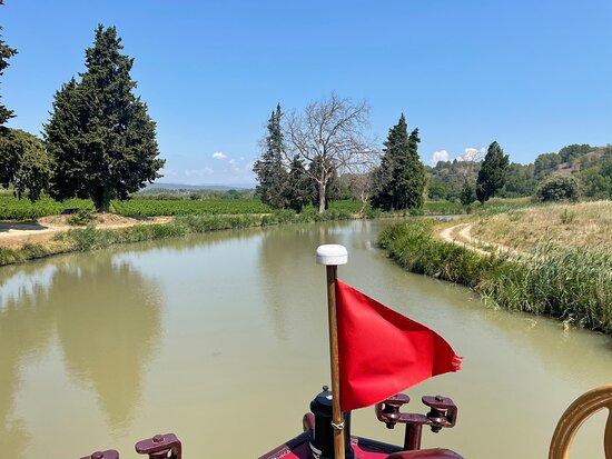 Canal Du Midi- Péniche Haricot Noir