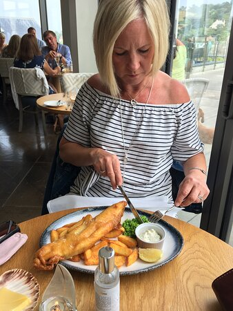 Best fish and chips for miles!