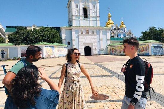 Free Kiev walking tours with Natalia