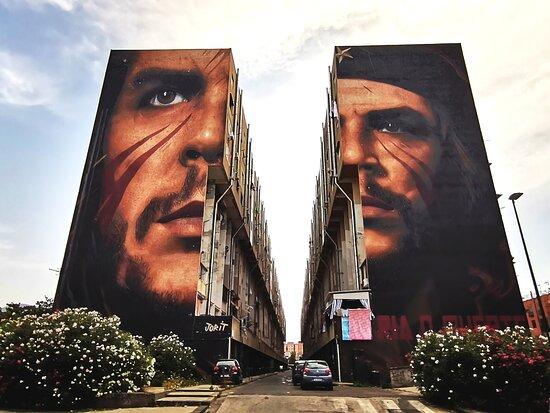Murale di Jorit Agoch - Diego Armando Maradona e Niccolo