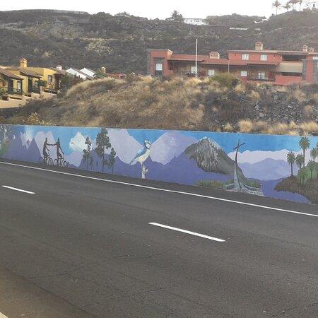 Playa De Los Cancajos, Ισπανία: Mural