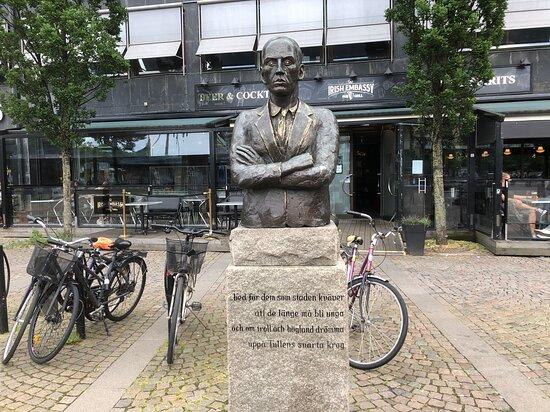 Statyn ''dan Andersson''
