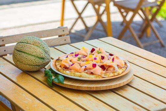 Collezione Estate 2021 - Pizza Melone - Pizzeria Grani Antichi
