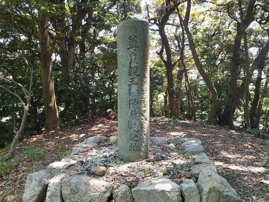 Expected site of Takayoshi Shinno Imperial Tomb