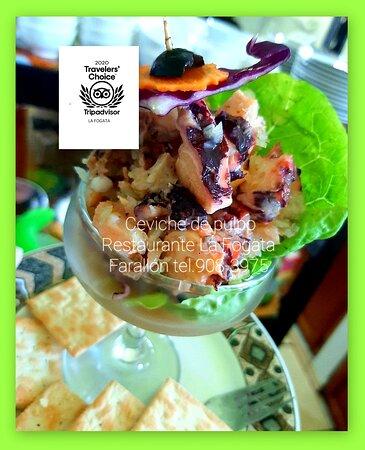 Ceviche de pulpo / Ceviche de poulpe/Octopus ceviche