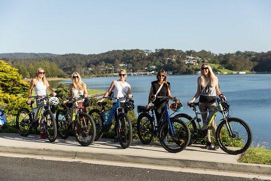 Tour autoguidato in bici elettrica Ostriche, birra e sentiero costiero