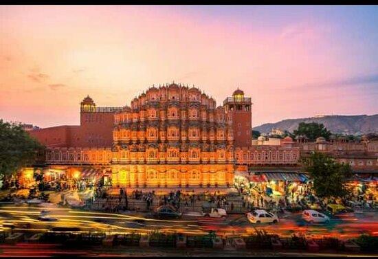 Hawamahal in Jaipur.