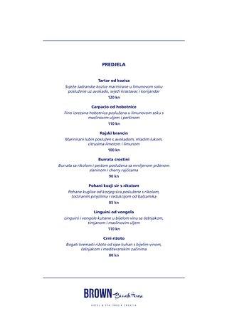 Večernji menu