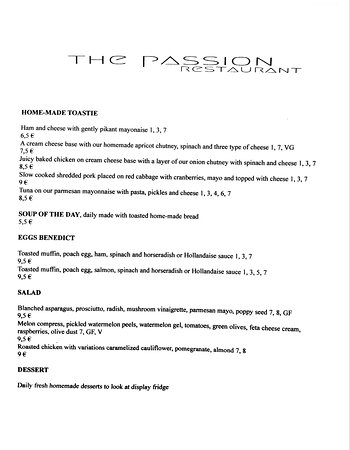 Have you tried our new menu?