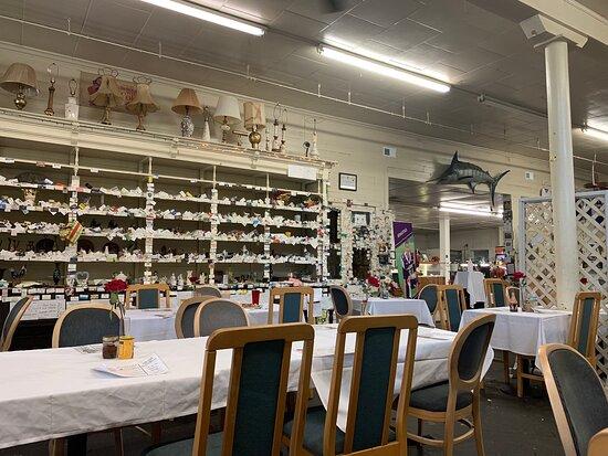 Lorman, MS : A weird décor restaurant