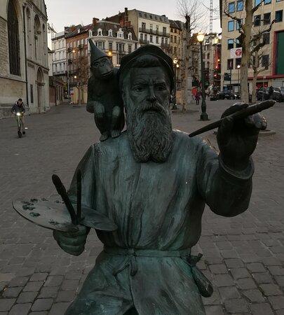 The Statue of Pieter Bruegel