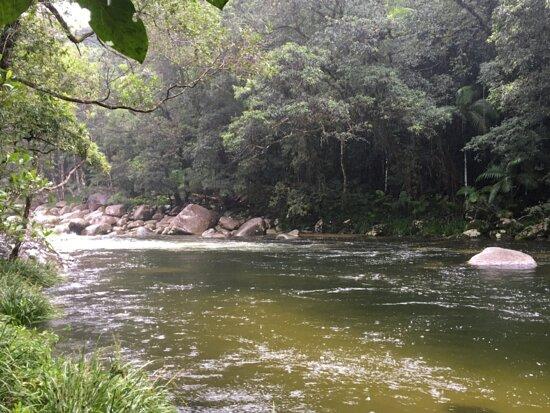 Daintree Region, Austrália: river