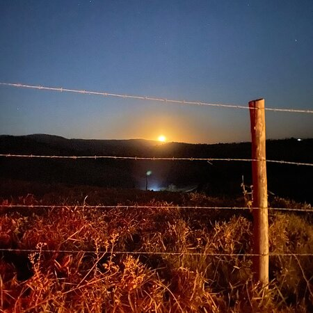 Serra da Canastra National Park, MG: Por do sol da super lua