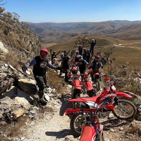 Serra da Canastra National Park, MG: Experiencia como motos de trilha