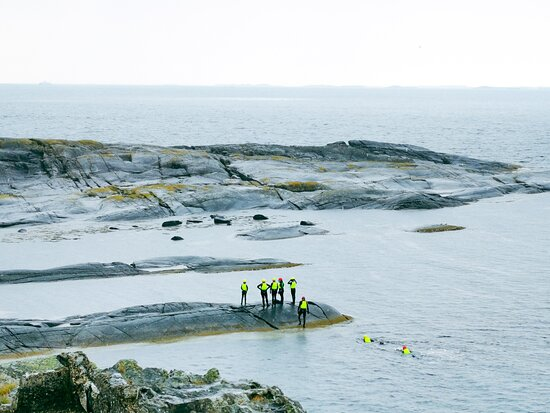 Rennesoy Municipality, Norway: Coasteering - feel nature close and wild! Still, all warm and safe!