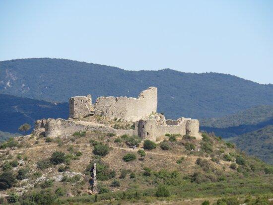 Tuchan, France: Les ruines du château