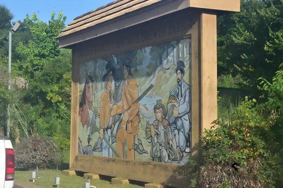Crockett, TX: Mural