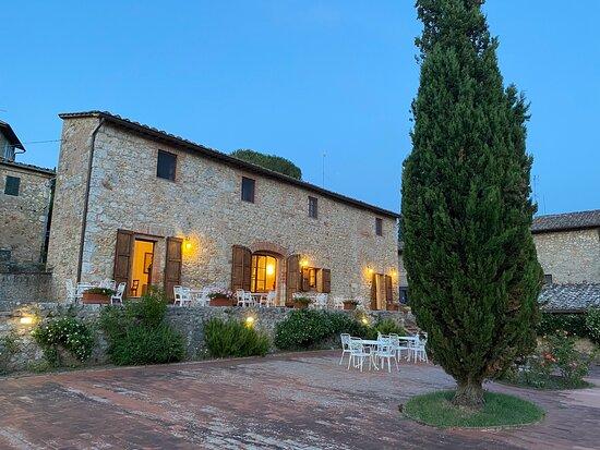 Numerose ragnatele in tutta la stanza - Relais Borgo di Toiano, Sovicille Resmi - Tripadvisor