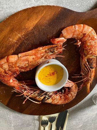 OMG the prawns 🍤