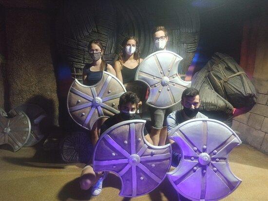 Conquista De Troya Escape Room
