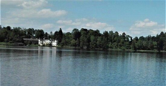 Seehausen am Staffelsee, Germany: Insel Wörth, die größte der sieben Inseln