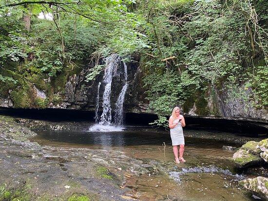 Gastack Beck Waterfall