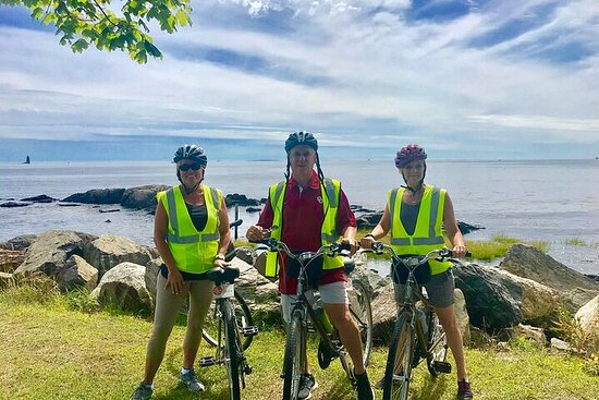 """2-hrs. Islands & Harbor Bike Tour """"Must See"""" Sites of Portsmouth..."""