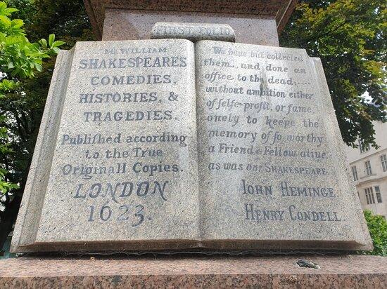 John Heminges and Henry Cordell Memorial