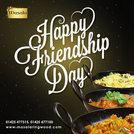 Create a fascinating atmosphere at your home to celebrate a happy Friendship day by ordering your favourite Indian dishes. 💟  🚛 Express delivery goes right to your door.