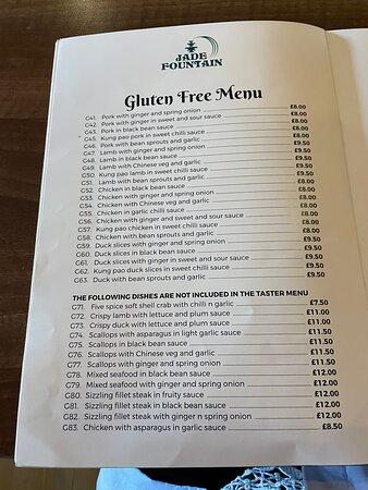 Great gluten free Chinese!