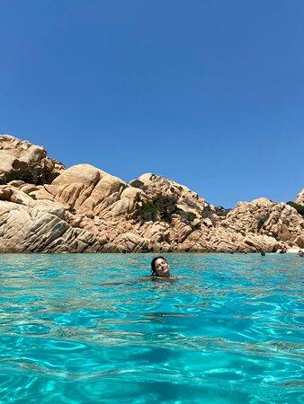 Le acque turchesi di Cala Coticcio