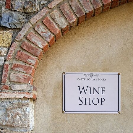 Castellina In Chianti, Italien: wine shop