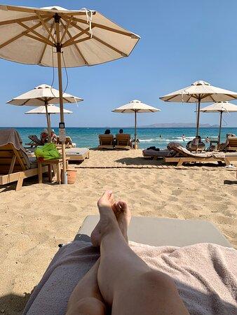 Chilliges Ambiente, neu, schöner Strand, gutes Essen.im Fazit empfehlen wir das Hotel mit kleinen Abstrichen weiter.