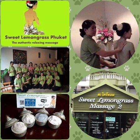 Sweet Lemongrass Massage 1 & 2