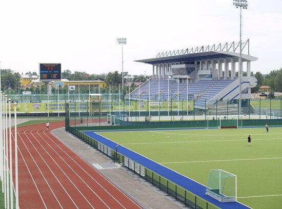 Center of Field Hockey