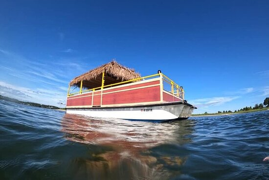 Excursion privée en bateau HampTiki à Peconic Bay et au parc...