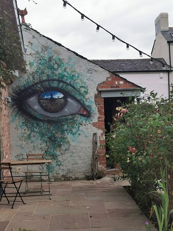 Made us laugh  - Little EcclestonThe Cartford Inn的圖片 - Tripadvisor