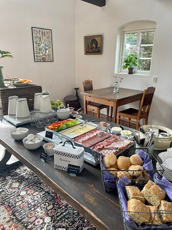 Hammenhog, Suécia: Vår mysiga frukostbuffe'