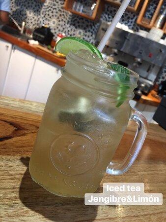 Iced Tea Jengibre & Limon
