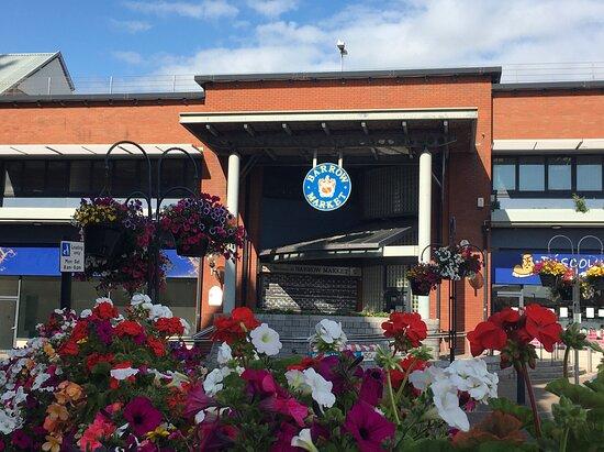 Barrow Market Hall Duke Street entrance