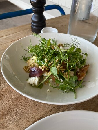 Superb relaxed lunch with quality ingredients and cooking