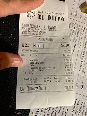Pictures of Bar-restaurante El Olivo - Frigiliana Photos - Tripadvisor